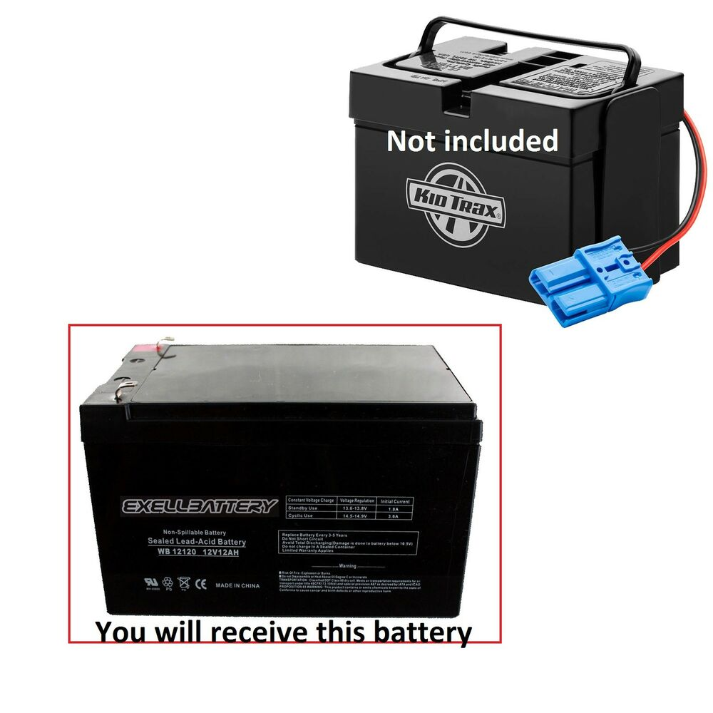 Kid Trax 12 Volt 12 Ah Rechargeable Replacement Battery