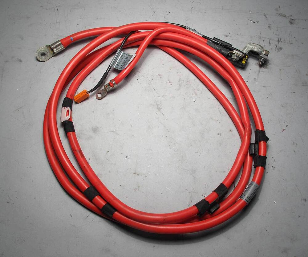 Bmw E46 3 Series Touring Wagon Positive Red Battery Cable
