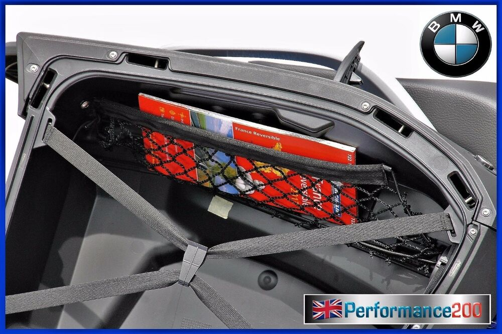cargo net for side case for bmw r1200rt lc ebay. Black Bedroom Furniture Sets. Home Design Ideas