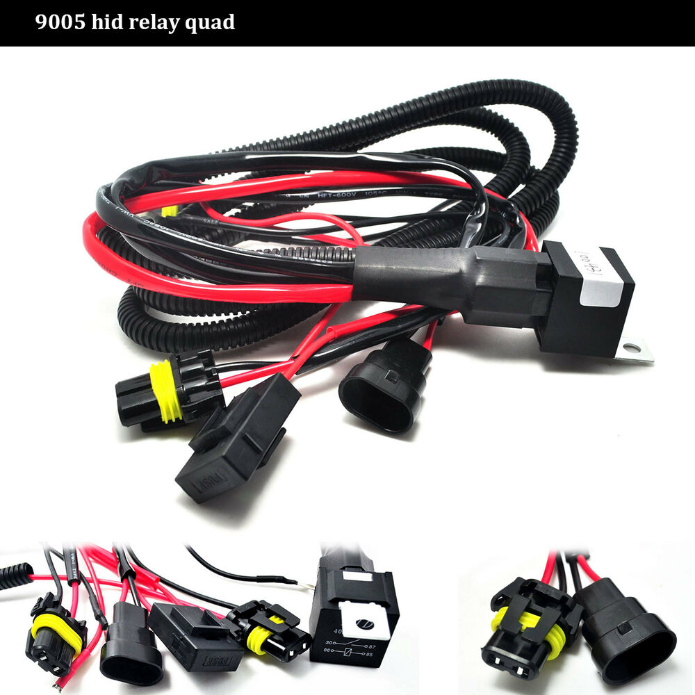 Hid Fog Lights Wiring Free Diagram For You 9006 Conversion Kit 9005 Relay Harness Add Option