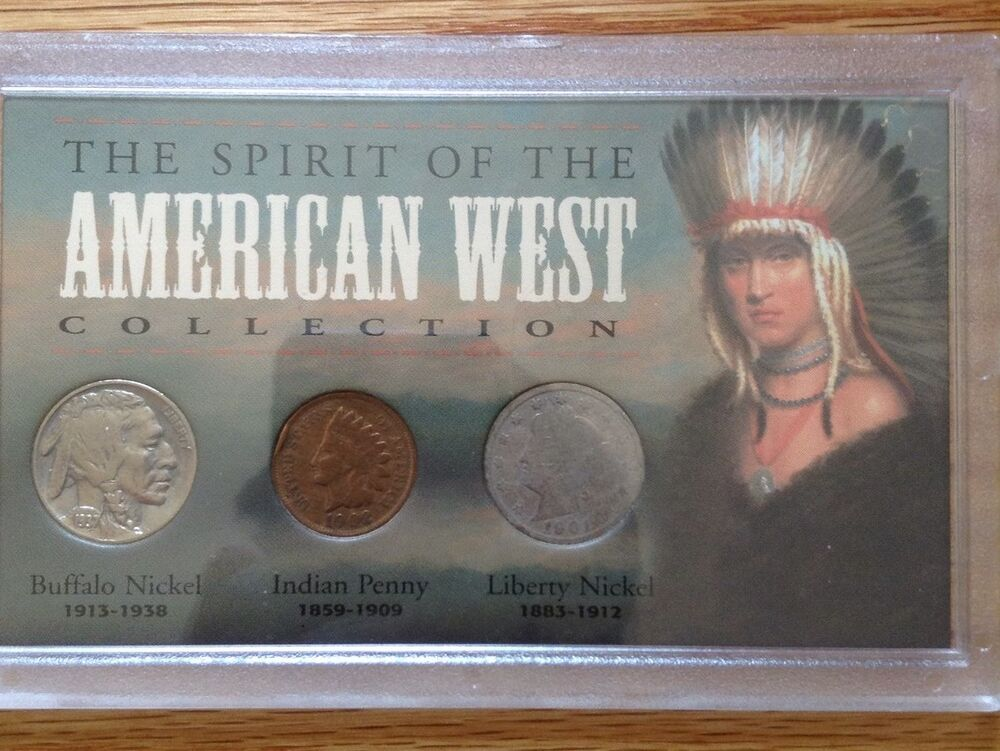 The Spirit Of The American West Collection Indian Cent