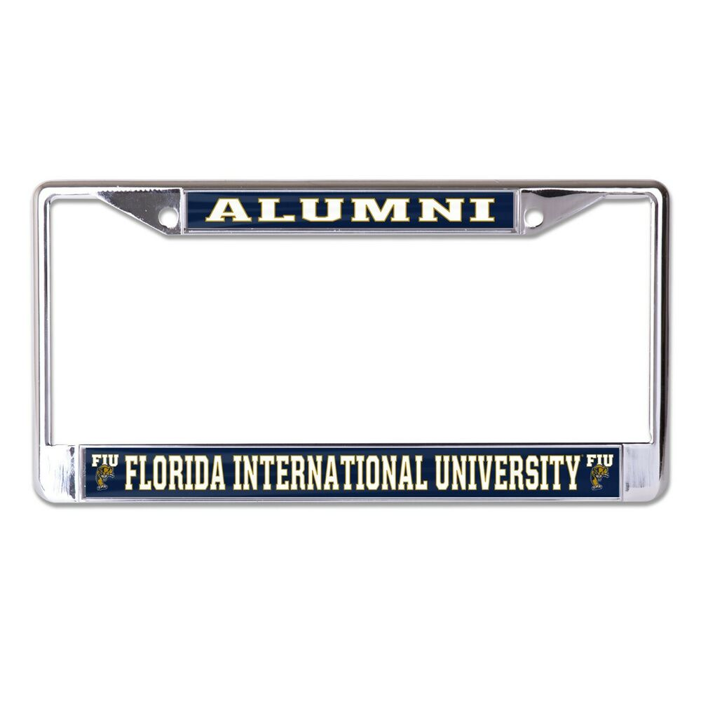 fiu panthers alumni photo license plate frame