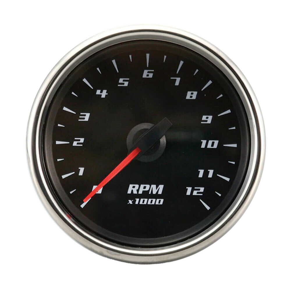 0 12000 rpm electrical motorcycle tachometer gauge ebay for Tachometer for electric motor