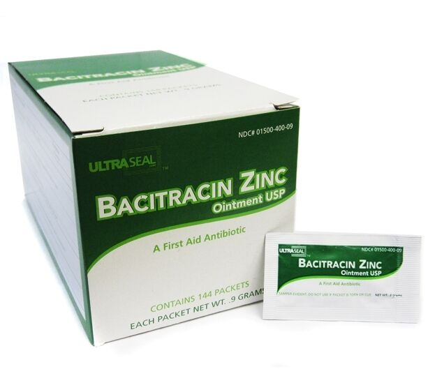 Bacitracin zinc ointment individual foil box aftercare for What kind of ointment for tattoos