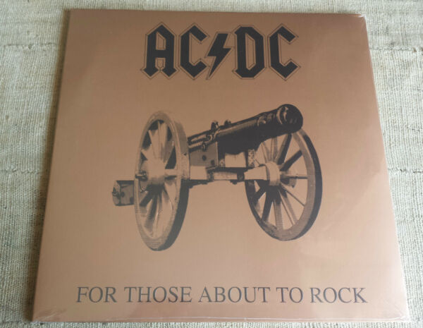 AC/DC – For Those About To Rock (We Salute You) – LP NUOVO / SEALED