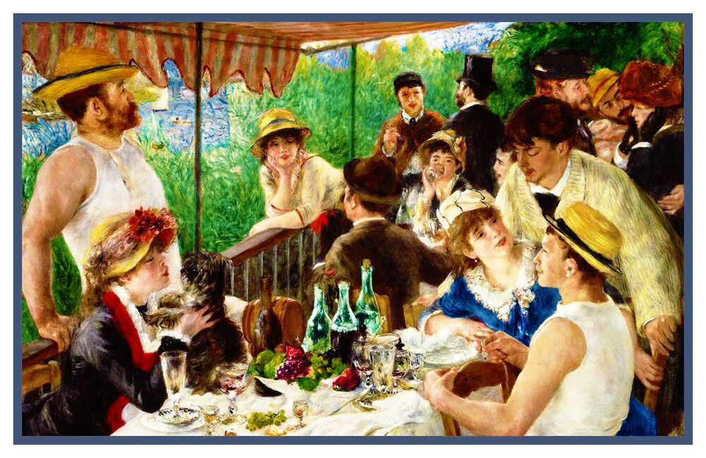 Luncheon Of The Boating Party Renoir's Lu...