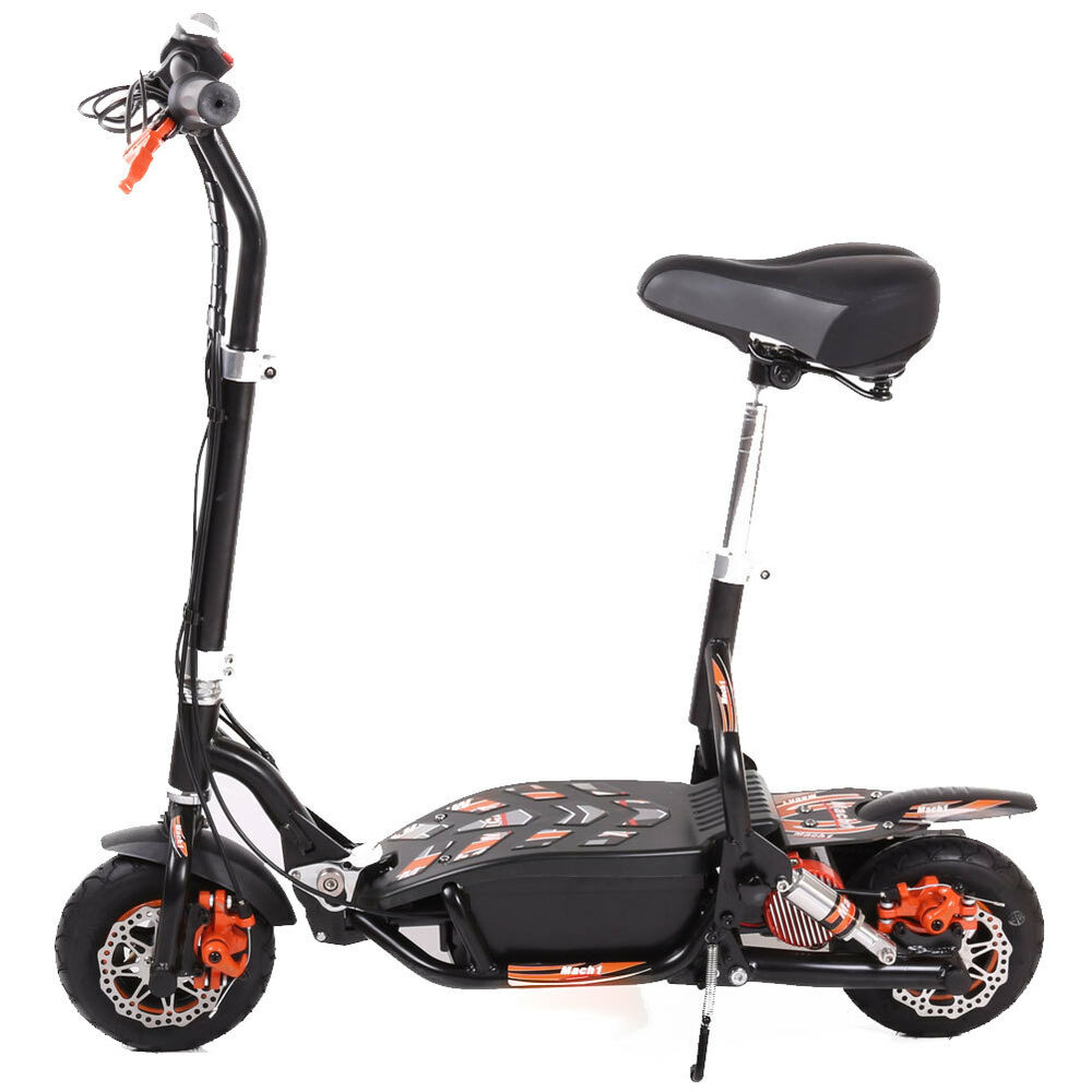 mach1 elektro scooter 300w 24v 10ah li ion akku roller e. Black Bedroom Furniture Sets. Home Design Ideas