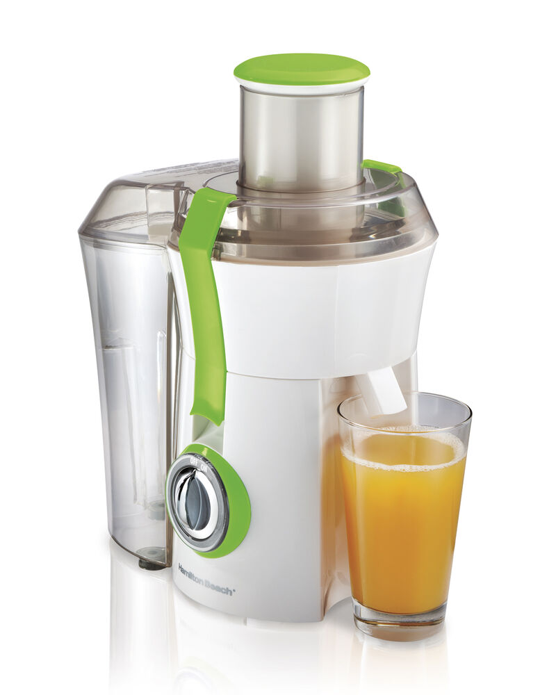 Counter Top Juicer ~ Hamilton beach powerful w big mouth countertop juice