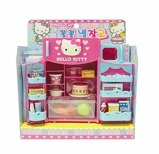 Hello Kitty Toys Set : Hello kitty kitchen play set mother s mom cook role kit