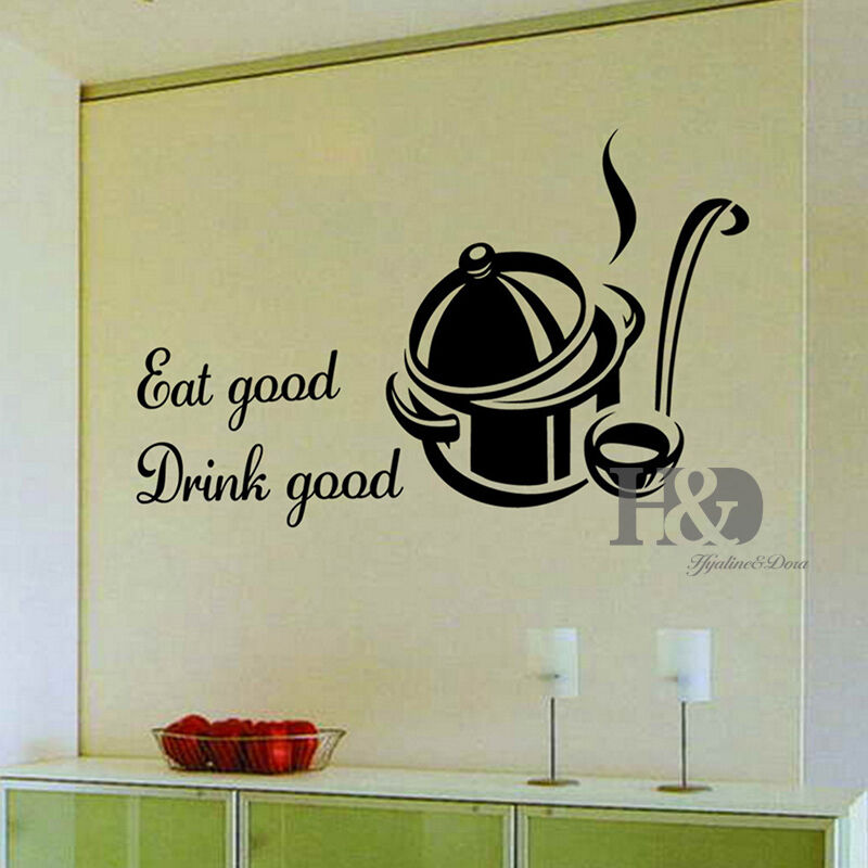 Kitchen Decor Words: Words Removable Vinyl Decal Wall Sticker Mural Art DIY