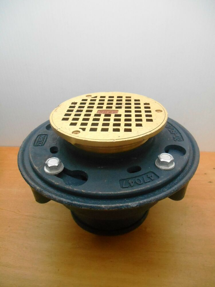 Zurn Z415b Hd Floor Shower Drain With 5 B Strainer Bronze