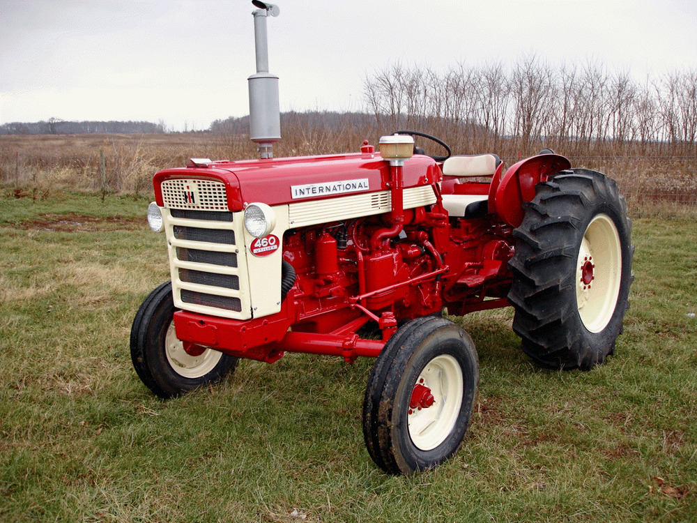 Farmall 460 Tractor Parts : Case tractor parts history and information antique