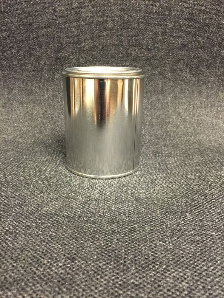 Pint Size Empty Metal Paint Cans With Lids 12 Cans And 12