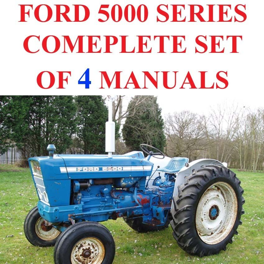 Ford 5000 Tractor Manual : Ford series tractors service parts catalog owners