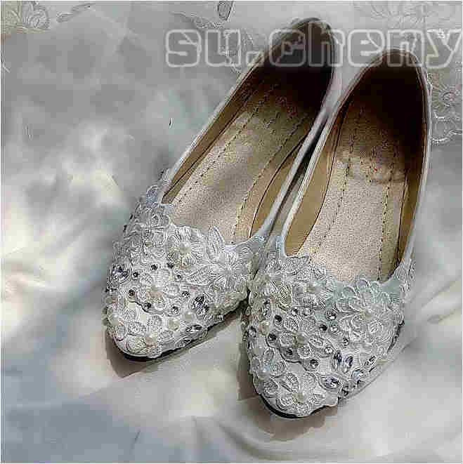 lace wedding shoes flats 4cm 7 5cm wedges heels white lace wedding shoes 5381