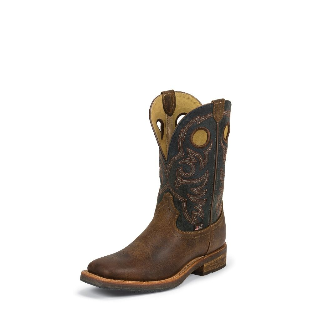 Men S Justin 1826 Rugged Tan 1879 Collection Brown Leather