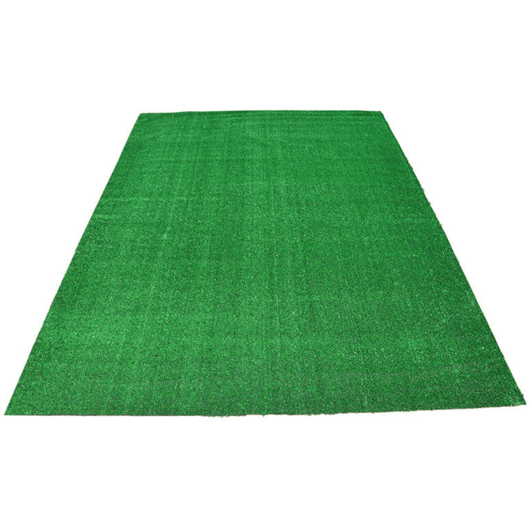 Green Artificial Grass Carpet Area Rug Indoor Outdoor
