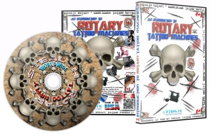 Rotary tattoo machine introduction dvd 3 5 hours training for How to tattoo dvd