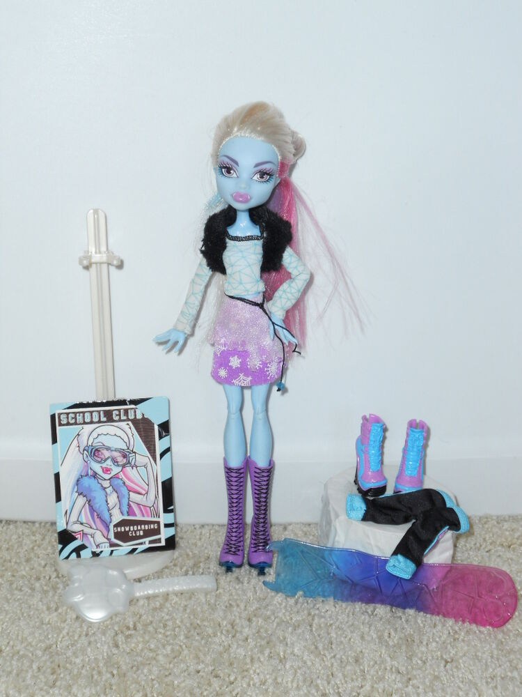 Monster High Fashion Pack Abbey Bominable
