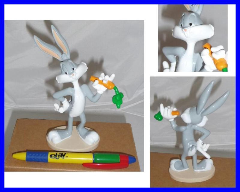 rare big 7 39 39 figure bugs bunny with carrot looney tunes italian de agostini mint ebay. Black Bedroom Furniture Sets. Home Design Ideas