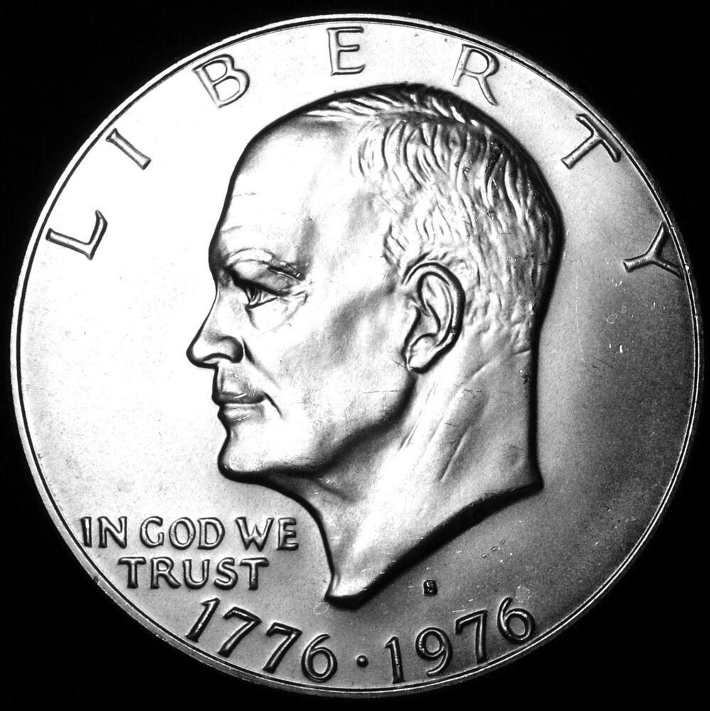 1776 1976 S Eisenhower Quot Ike Quot 40 Uncirculated Dollar