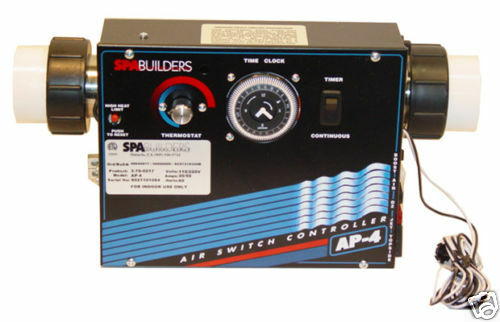 Spa Builders - CONTROL: AP-4 240V WITH HEATER 5.5KW AND ...
