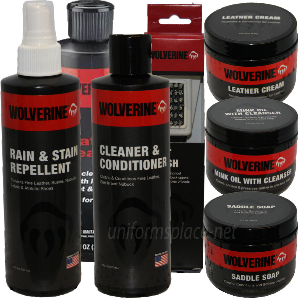 Leather jacket cleaner and conditioner