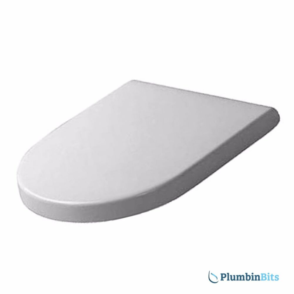 DURAVIT STARCK 3 REPLACEMENT TOILET SEAT & COVER SOFT CLOSE HINGES ...