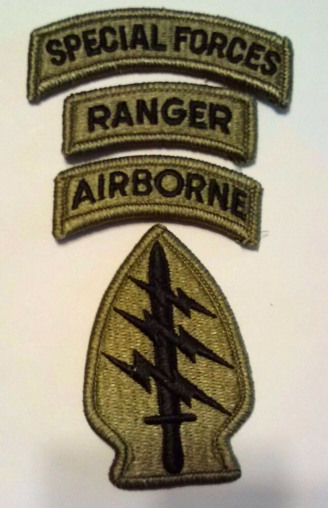 Usaf special forces patches ranger