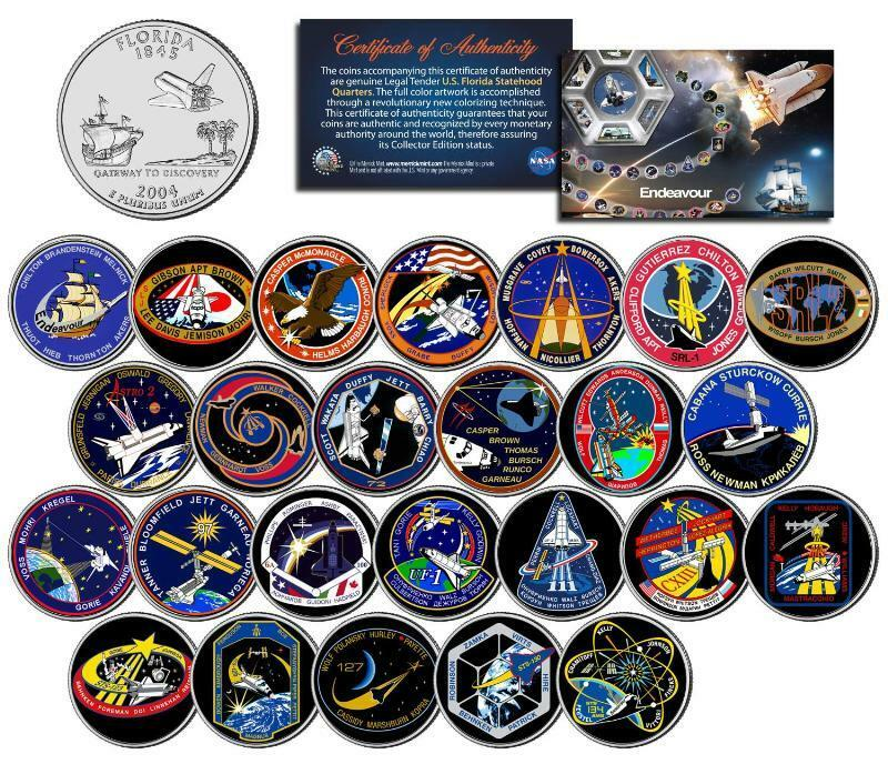 space shuttle mission pin set - photo #21