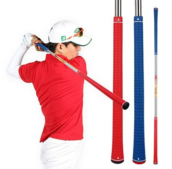 new kaxiya 2 way power stick golf swing training aid stick. Black Bedroom Furniture Sets. Home Design Ideas