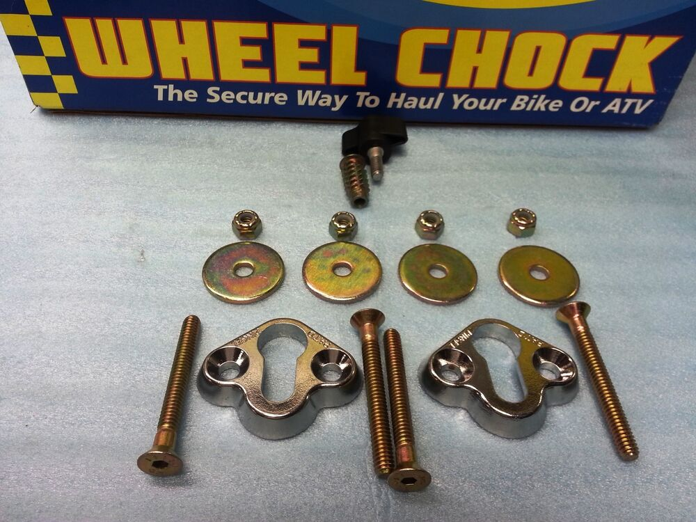 Motorcycle Wheel Chock Removable PINGEL WC-MD010T REMOVABLE WHEEL CHOCK TRAILER MOUNTING HARDWARE T ...