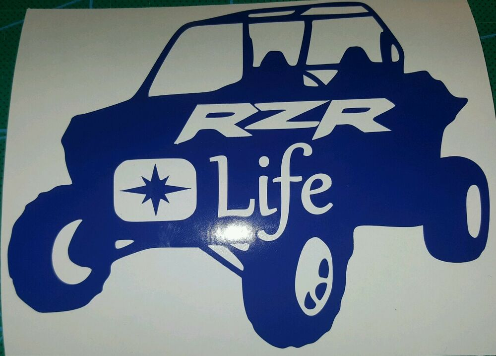 Polaris Rzr Life Decal Sticker Ebay