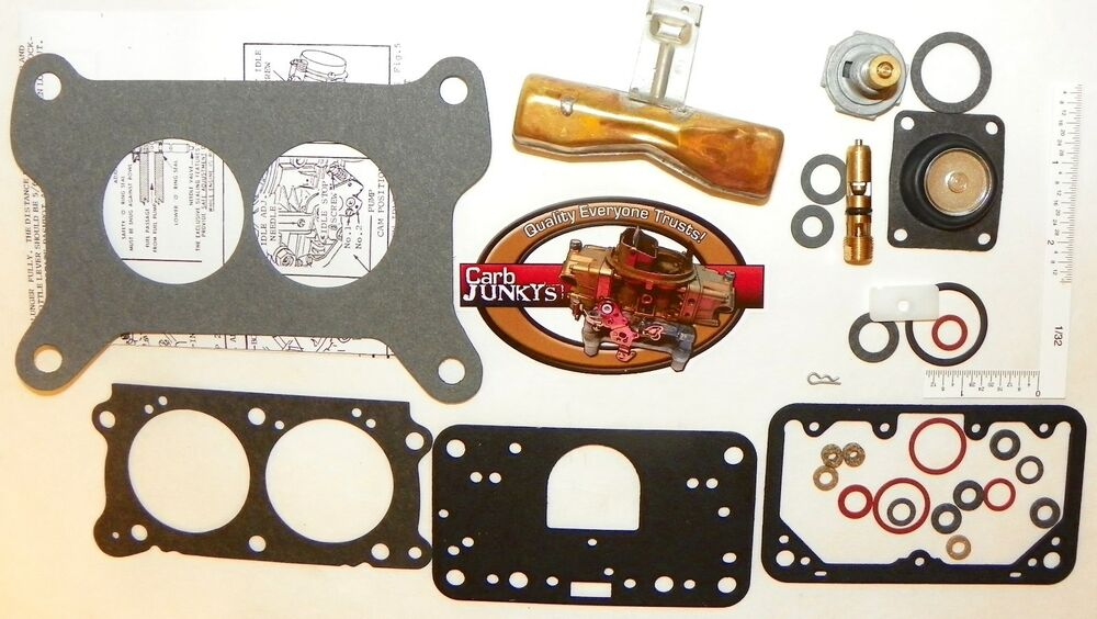 Top Five Holley Carburetor Rebuild Kit 4412 / Fullservicecircus