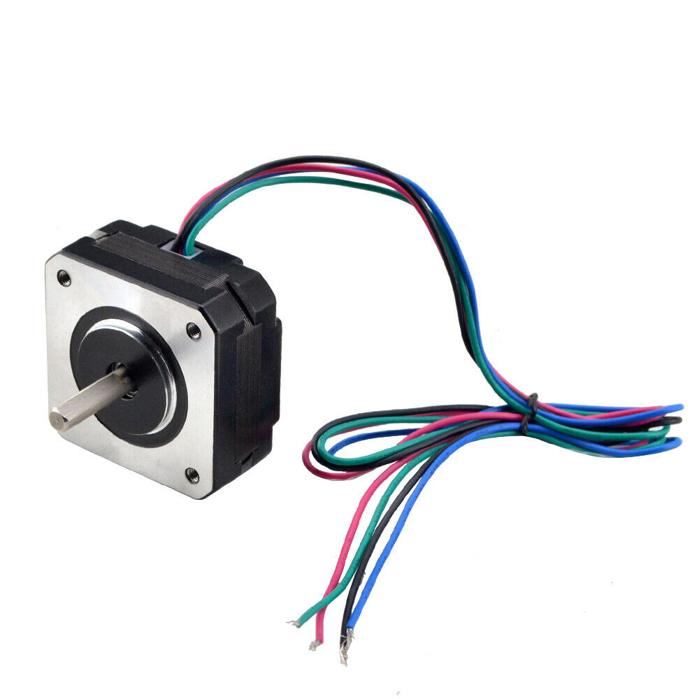 Us ship short body nema 17 stepper motor bipolar 1a for Ebay motors shipping company