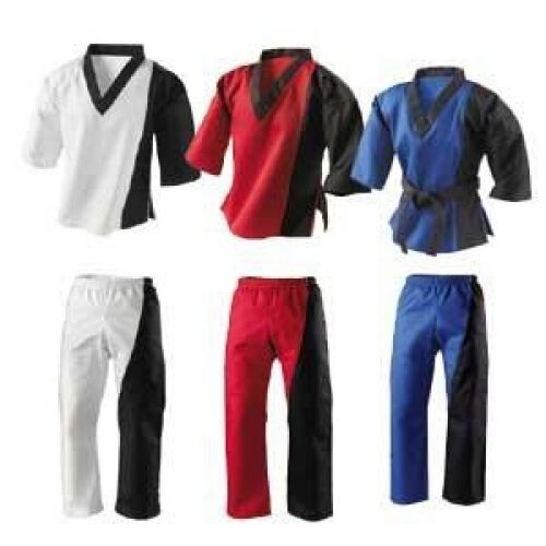 Splice Freestyle Martial Arts Uniform Outfit Suits Gi Childrens Adults Kids | eBay