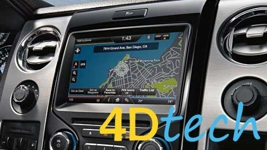 Ford Edge Accessories >> Factory MyFord MyTouch OEM GPS Navigation Upgrade Kit MFT ...
