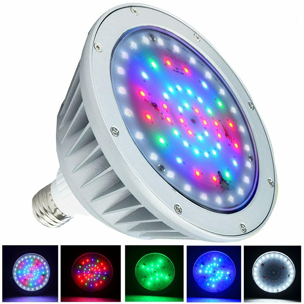 120v 20w 12v 20w Color Changing Led Pool Light For Pentair