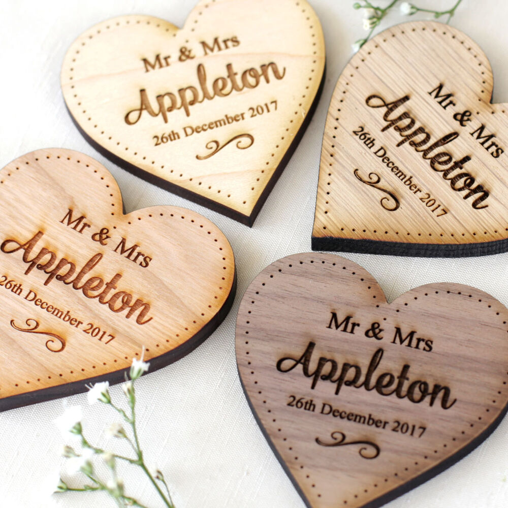 Wooden Wedding Cake Boards