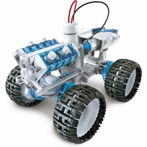 Children science educational diy salt water powered engine for Motor kits for kids
