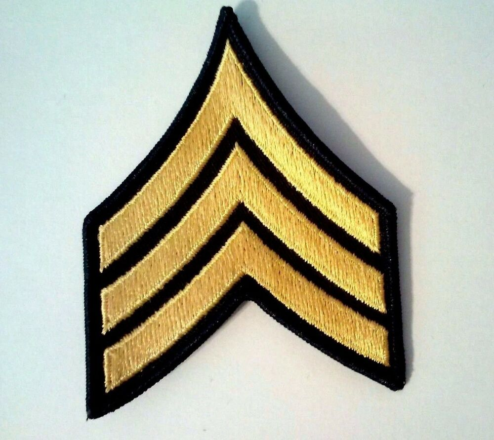 u s  army e green pair rank patch sew on