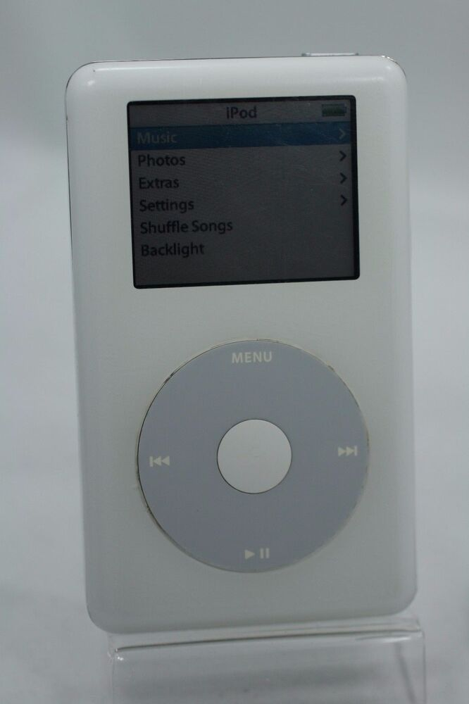 Refurbished 20gb White Apple iPod Photo 4th Gen 20 GB ...