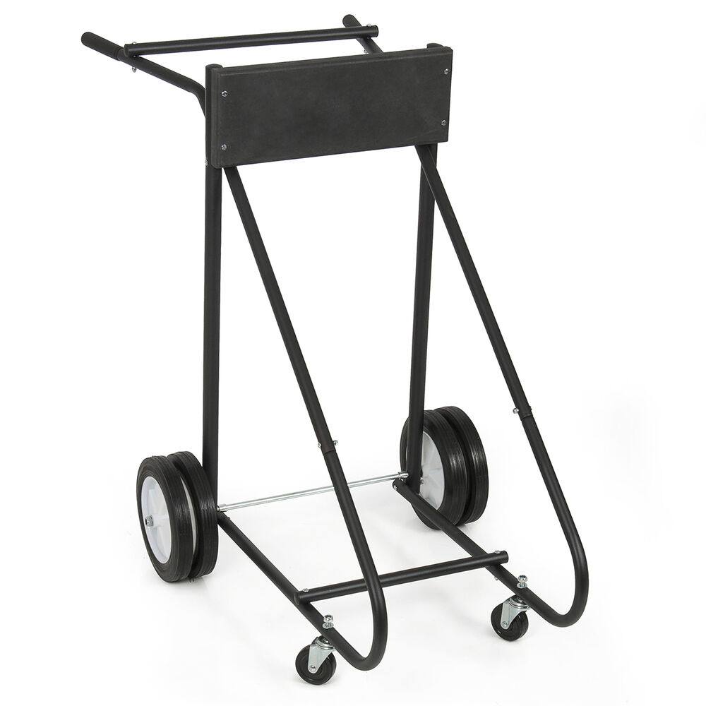 New 315lb Outboard Boat Motor Stand Carrier Cart Dolly