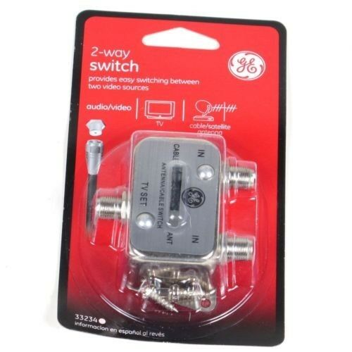 Ge 2-way Switch Splitter Cable   Antenna  B Switch