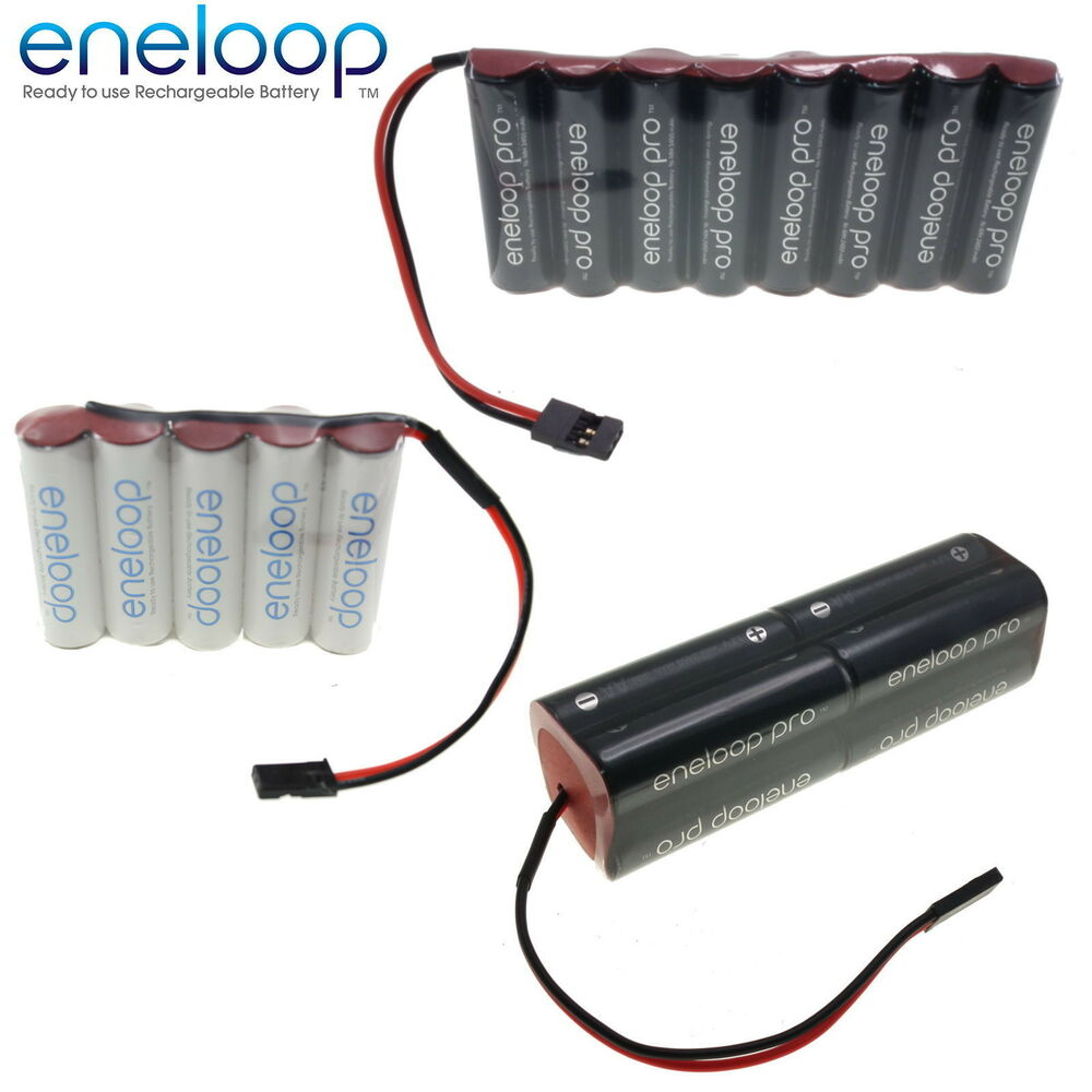 panasonic eneloop 6v aa aaa receiver transmitter battery pack ebay. Black Bedroom Furniture Sets. Home Design Ideas