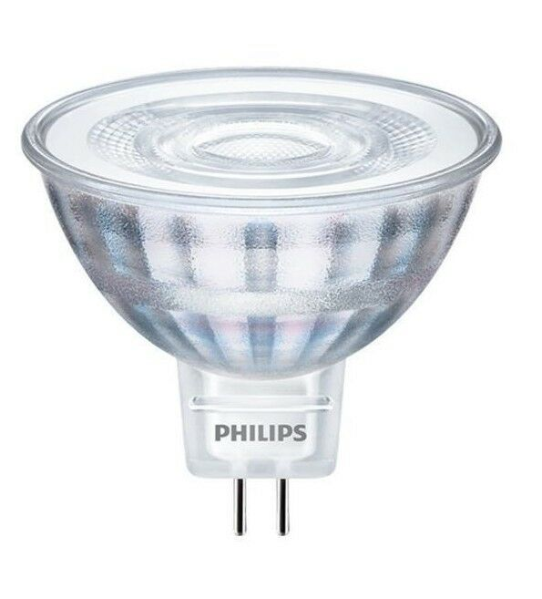 philips led spot mr16 gu5 3 strahler 4 7w 35w warm leuchtmittel halogenlampe 36d ebay. Black Bedroom Furniture Sets. Home Design Ideas