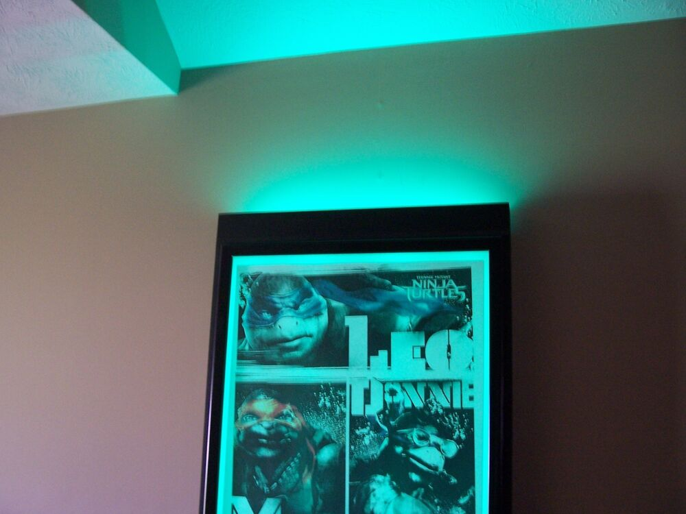 Movie Poster Light box,Colored. 20 Colors To Change Back ...