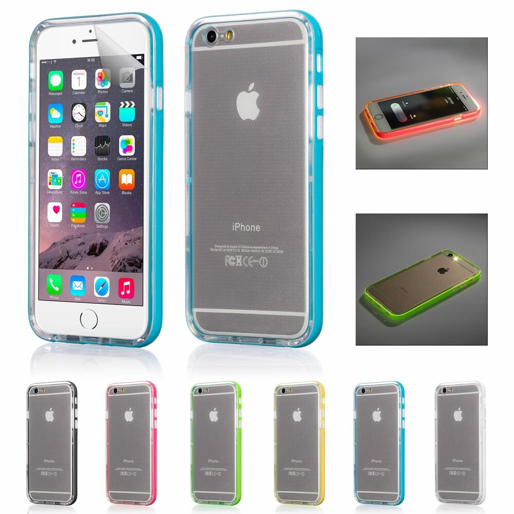 iphone led case light up led notification display for apple iphone 6 11984