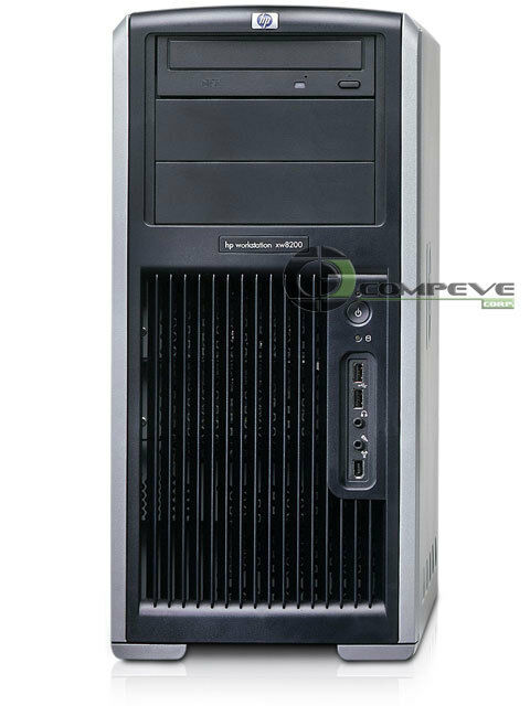 hp xw8200 workstation computer case with power supply 600w