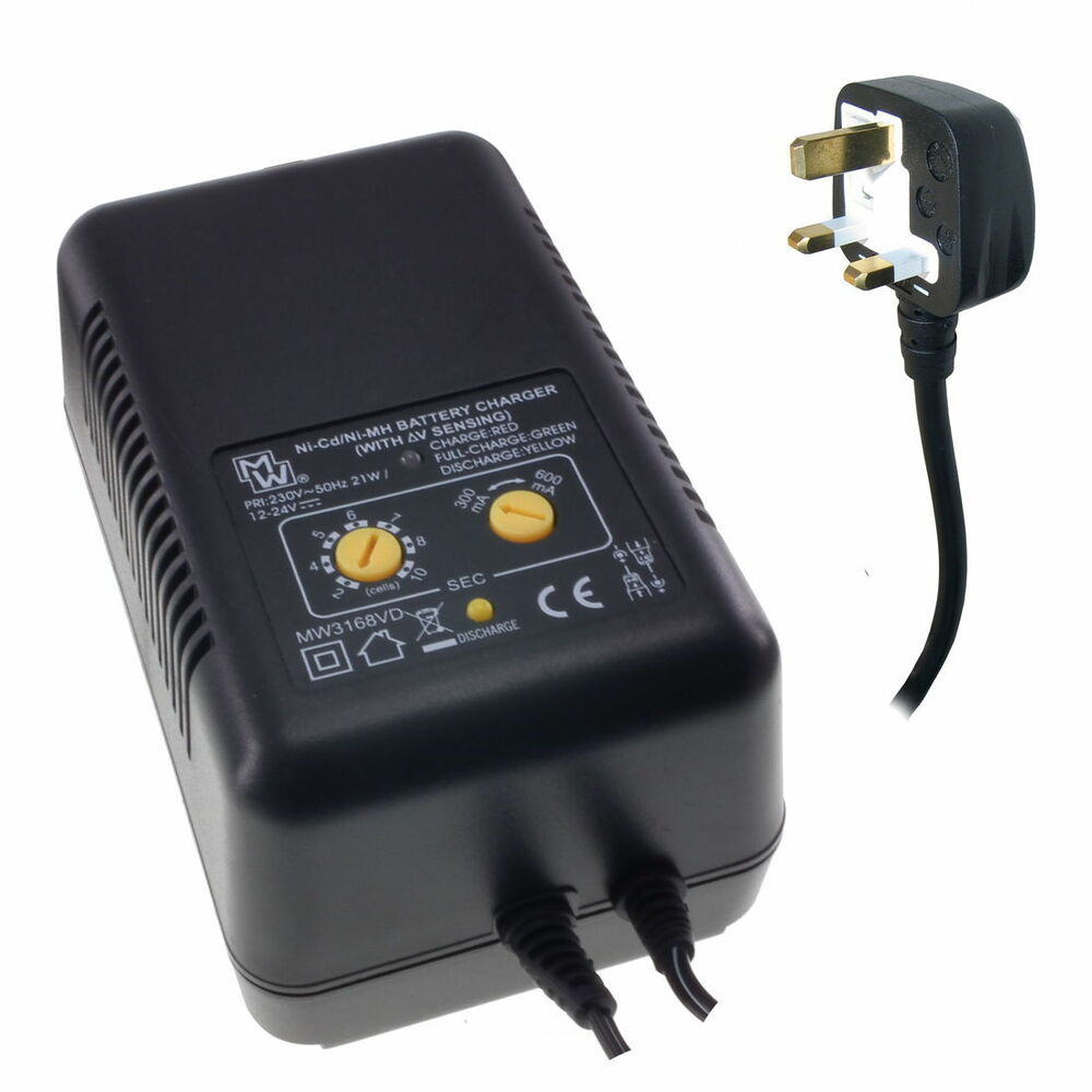 Intelligent Fast Charger For Radio Control Nicd Nimh